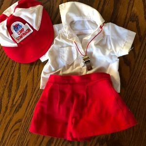 Molly American girl RETIRED CAMP GOWONAGIN outfit